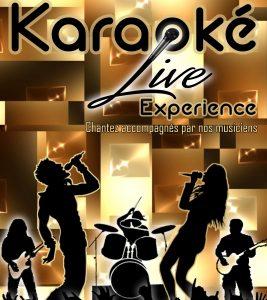 Logo Karaoké live experience